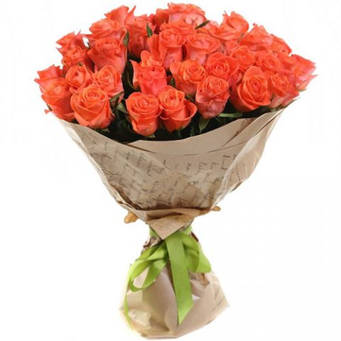 """51 троянда """"Вау"""""""