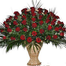 фото товару Живі похоронні квіти