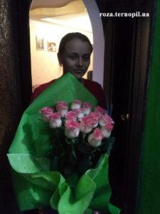 троянди з доставкою тернопіль
