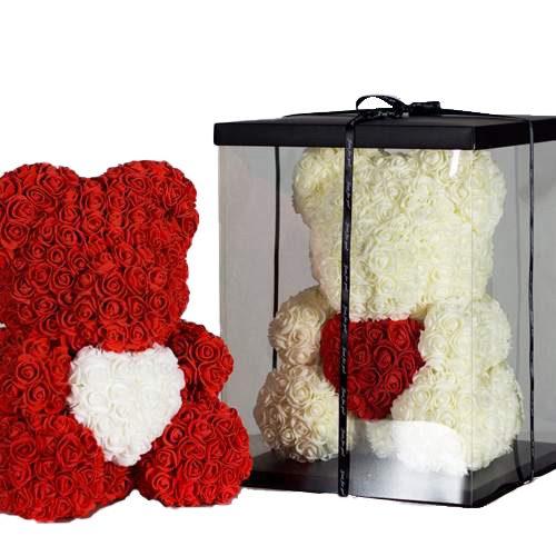 Ведмедик із троянд подарунок