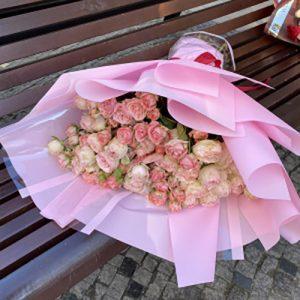 Фото товару 33 кущові троянди