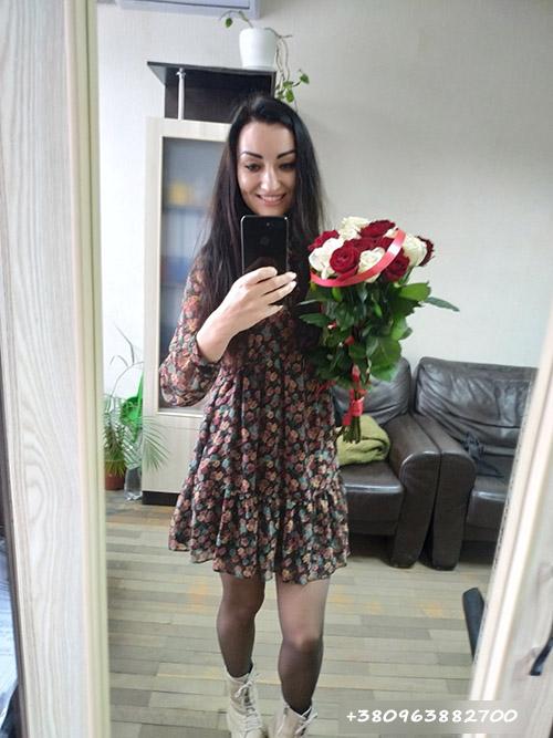 букет троянд фото доставки у Тернополі