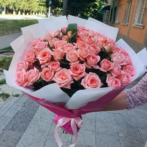 51 коралова троянда в Тернополі фото